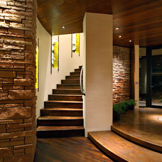 Contemporary Staircase by PHX Architecture