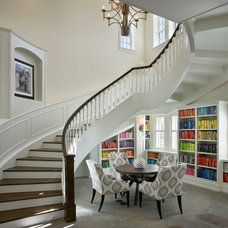 Traditional Staircase by Zoltan Construction LLC