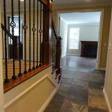 Traditional Staircase by Robertson Brothers