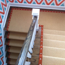 Contemporary Staircase by Peykar Rugs & Carpet