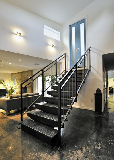 Industrial Staircase by RD Architecture, LLC
