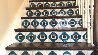 Custom Stair Tread Tiles