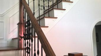 Custom Staircase and Railing