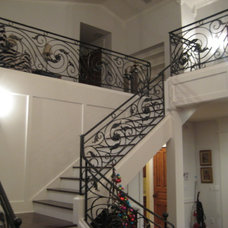 Traditional Staircase by SAS Builders LLC