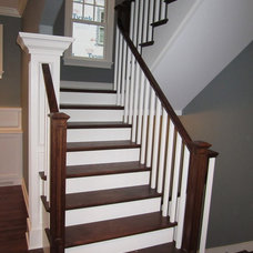 Traditional Staircase by Great Rooms Designers & Builders