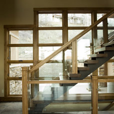 Contemporary Staircase by H&H Design