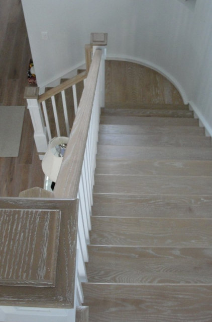 Traditional Staircase by Palm Beach Stairs, Inc