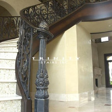Traditional Staircase by Trinity Stairs, Inc.