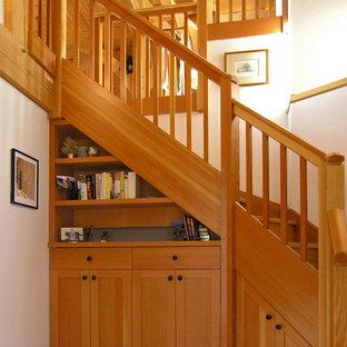 Custom Stairs with Storage