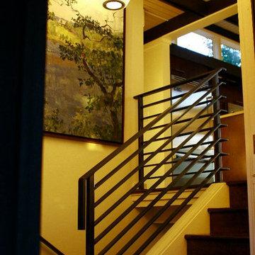 Custom Steel Handrail