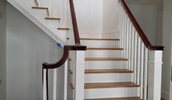 Custom Traditional Tri-level Staircase