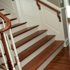 traditional staircase by Moulding Warehouse