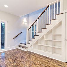 Traditional Staircase by Avenue B Development