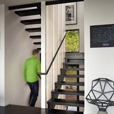 Contemporary Staircase by chadbourne + doss architects