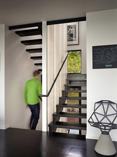 Современный Лестница by chadbourne + doss architects