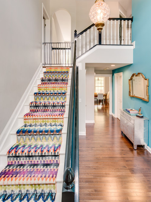 Best L Shaped Staircase Design Ideas Amp Remodel Pictures