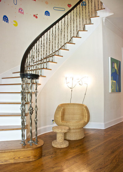 Contemporary Staircase by Hilary Walker