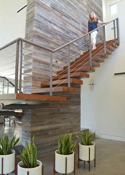 Contemporary Staircase by Sarah Greenman