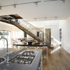 Contemporary Staircase by Dan and Hila Israelevitz- Architects