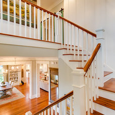 Traditional Staircase by JacksonBuilt Custom Homes