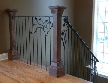 Darien Court - Staircase Railing