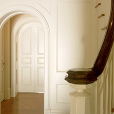 Traditional Staircase by Russell Guerin Architects, pc
