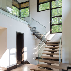 Contemporary Staircase by David Small Designs