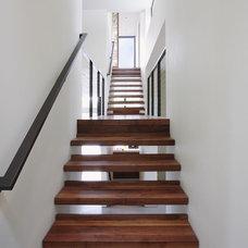 Modern Staircase by David Vandervort Architects