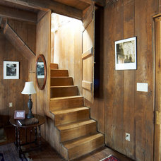 Rustic Staircase by dustin.peck.photography.inc