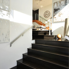 modern staircase by Dawna Jones Design