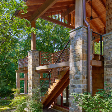 DC: Arts & Crafts Inspired Treehouse