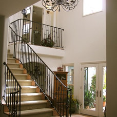 Mediterranean Staircase by Lampert Dias Architects, Inc.