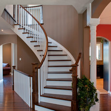 Traditional Staircase by Metric Homes
