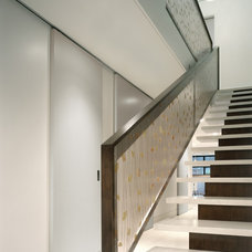 Contemporary Staircase by Delson or Sherman Architects pc