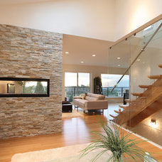 Contemporary Staircase by VictorEric