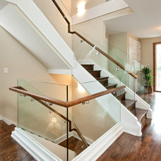 Contemporary Staircase by Roca Homes