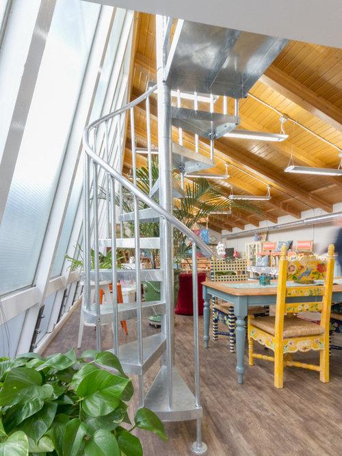 Denver Artistu0027s Studio U0026 Loft   Salter Spiral Stair