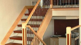 Denver Contemporary Staircase