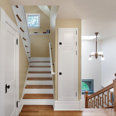 Traditional Staircase by sexton lawton architecture