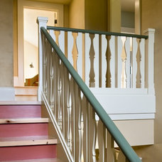 Traditional Staircase by Smith & Vansant Architects PC