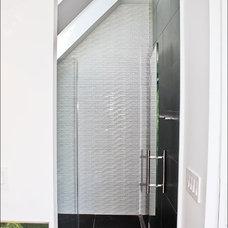 Contemporary Bathroom by Derek Moore and Sons General Contractors