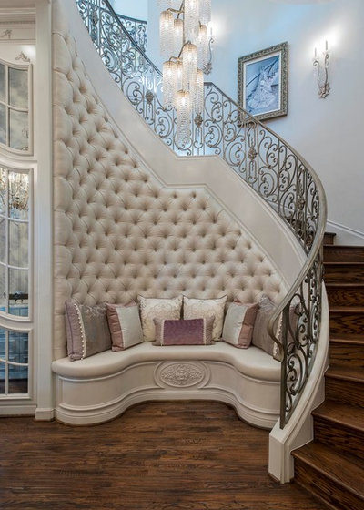 Traditional Staircase by Desco Fine Homes LLC