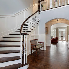 Traditional Staircase by Sterling Wilson Design