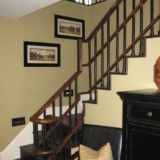 他の地域のアジアンスタイルのおしゃれな階段の写真