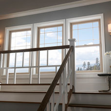 Traditional Staircase by Milgard Windows & Doors