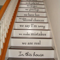 Traditional Staircase by Words On A Wall