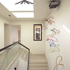 Modern Staircase by Amy Noel Design