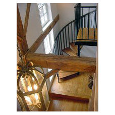 Traditional Staircase by DiGuiseppe Architect