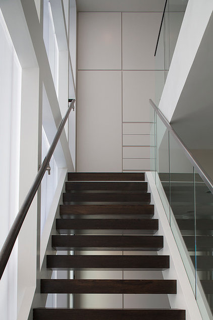 Contemporary Staircase by Doyle McCullar