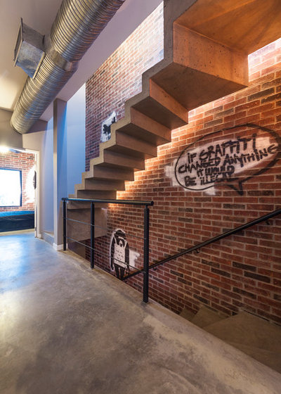Industrial Staircase by CityLoft